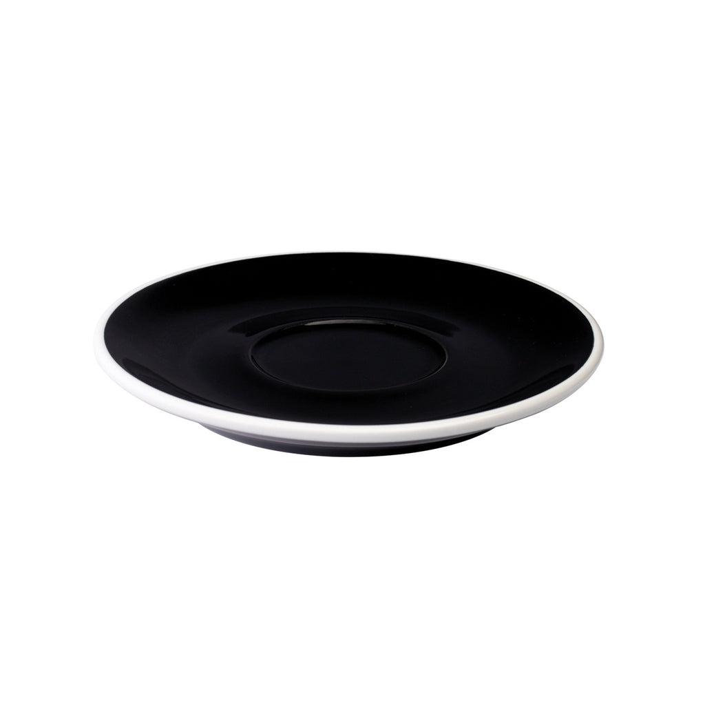 Loveramics Tulip Latte Saucer (Black) 15cm