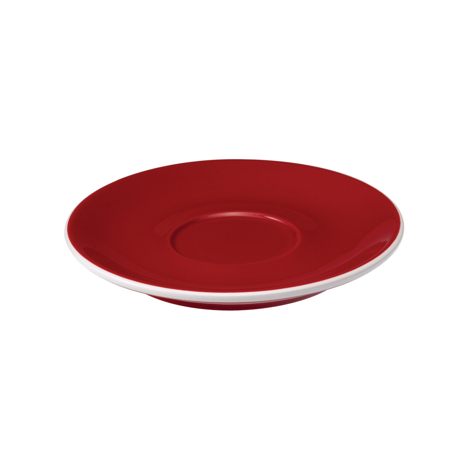 Loveramics Tulip Latte Saucer (Red) 15cm