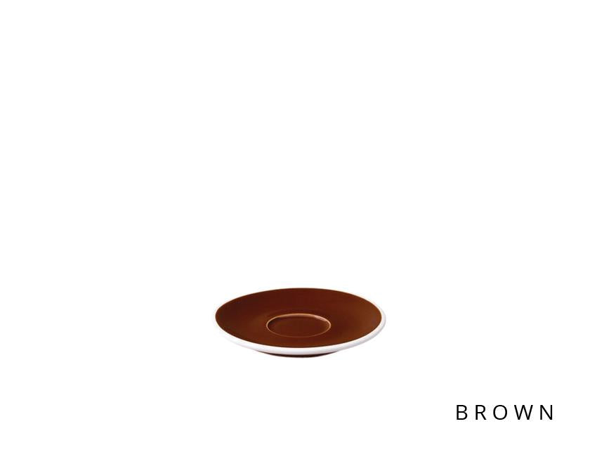 Loveramics Tulip Espresso Saucer - Brown