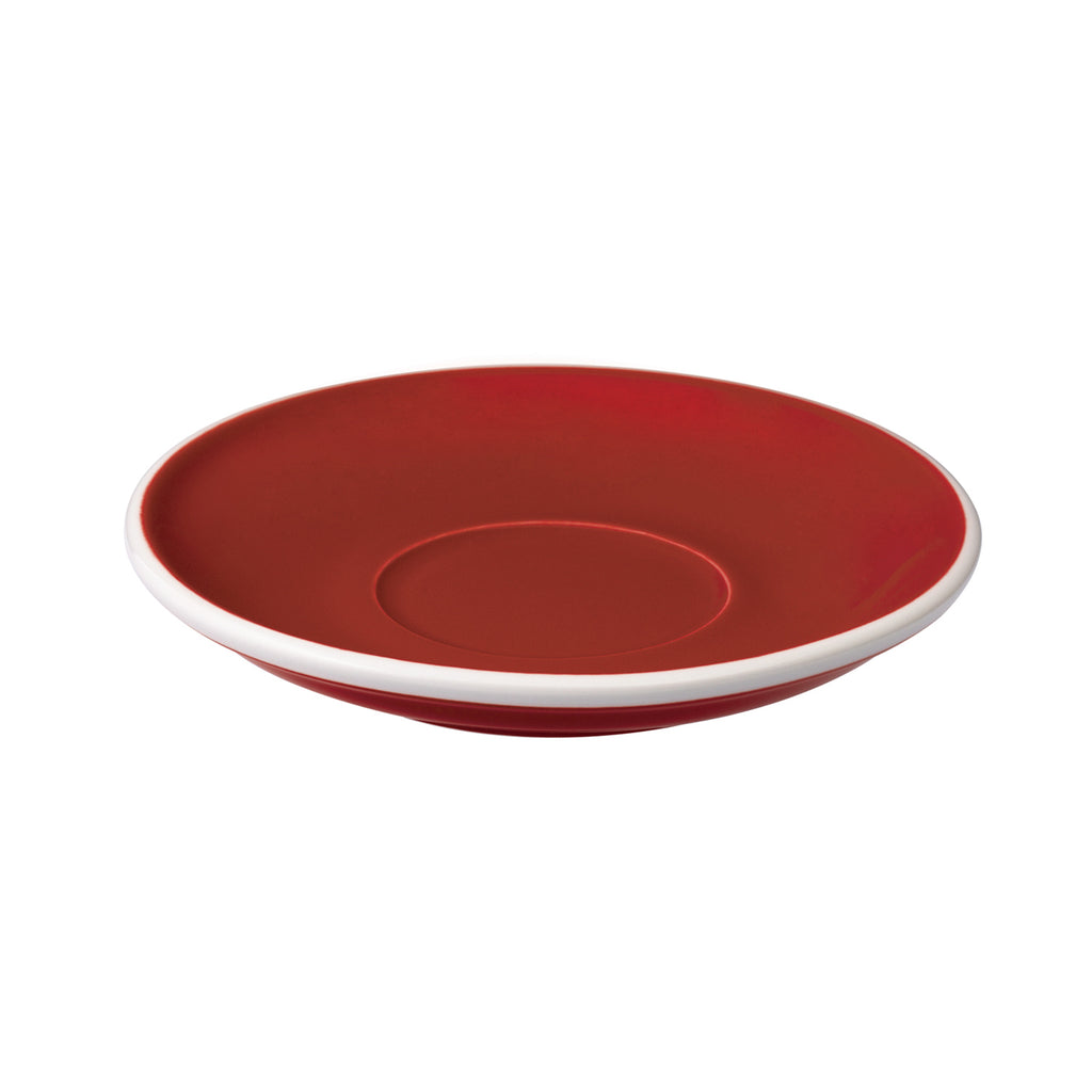 Loveramics Egg Latte Saucer (Red) 15.5cm