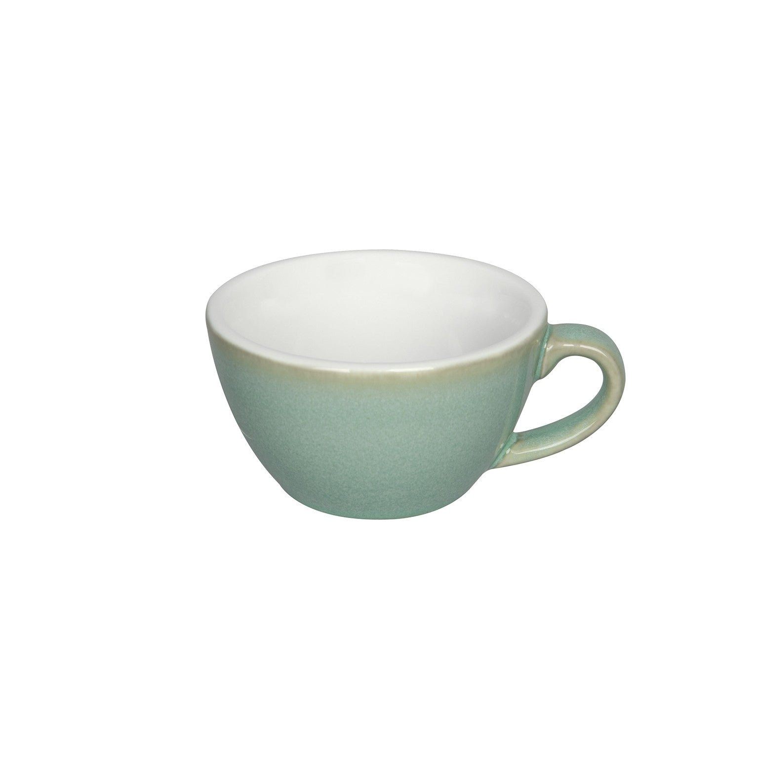 Loveramics Reactive Glaze Potters Flat White Coffee Cup (Basil) 150ml