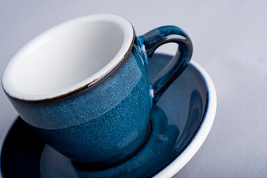 Loveramics Reactive Glaze Potters Espresso Saucer (Night Sky) 11.5cm