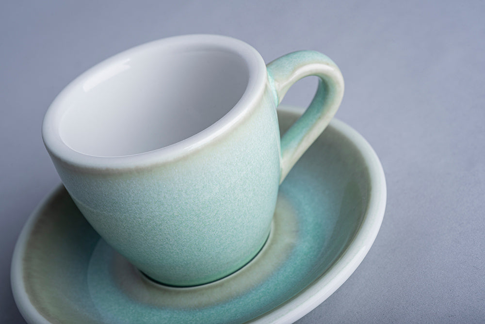 Loveramics Reactive Glaze Potters Espresso Cup (Basil) 80ml
