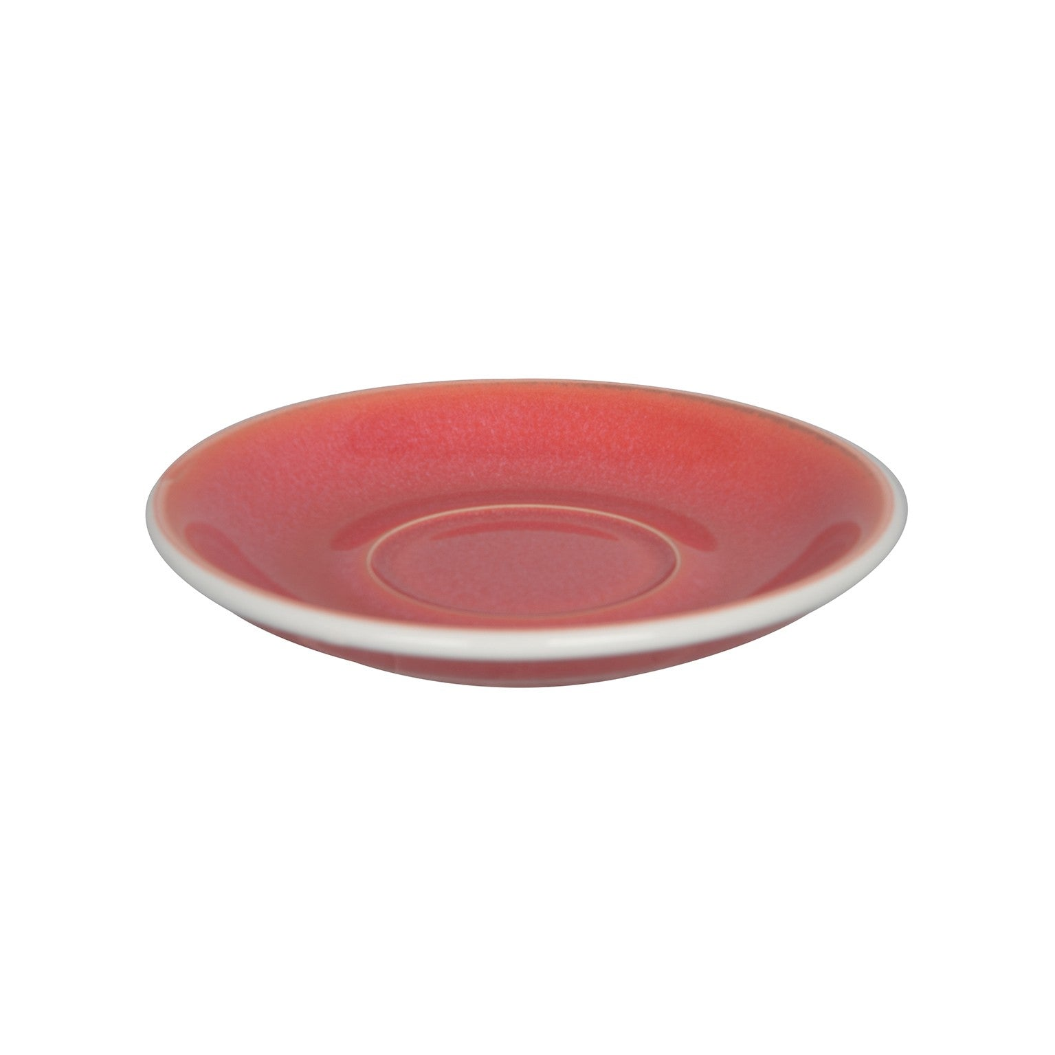 Loveramics Reactive Glaze Potters Flat White / Cappuccino Saucer (Berry) 14.5cm