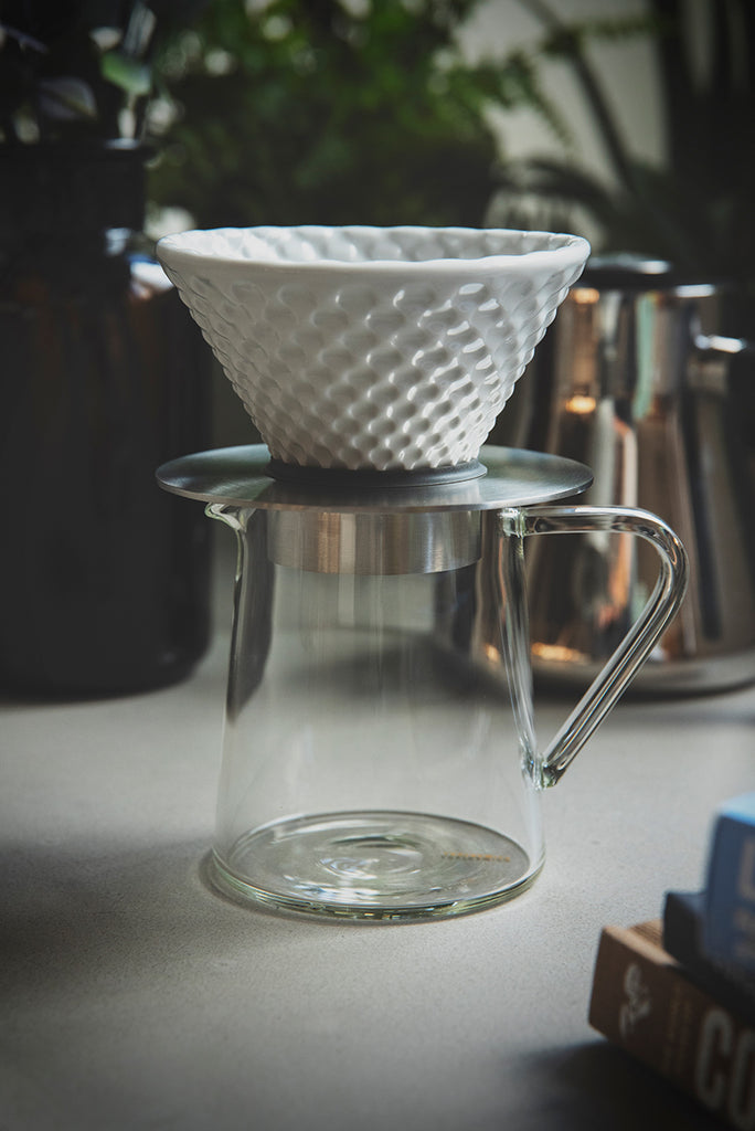 Loveramics Brewers Coffee Dripper Strong (White)