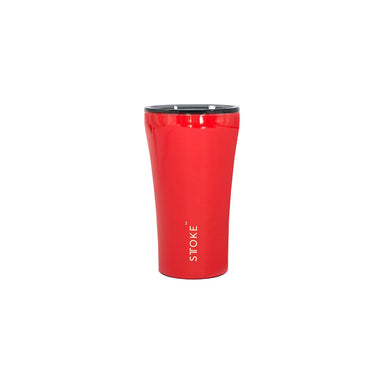 Sttoke Reusable Coffee Cup 12oz (Crimson Red)