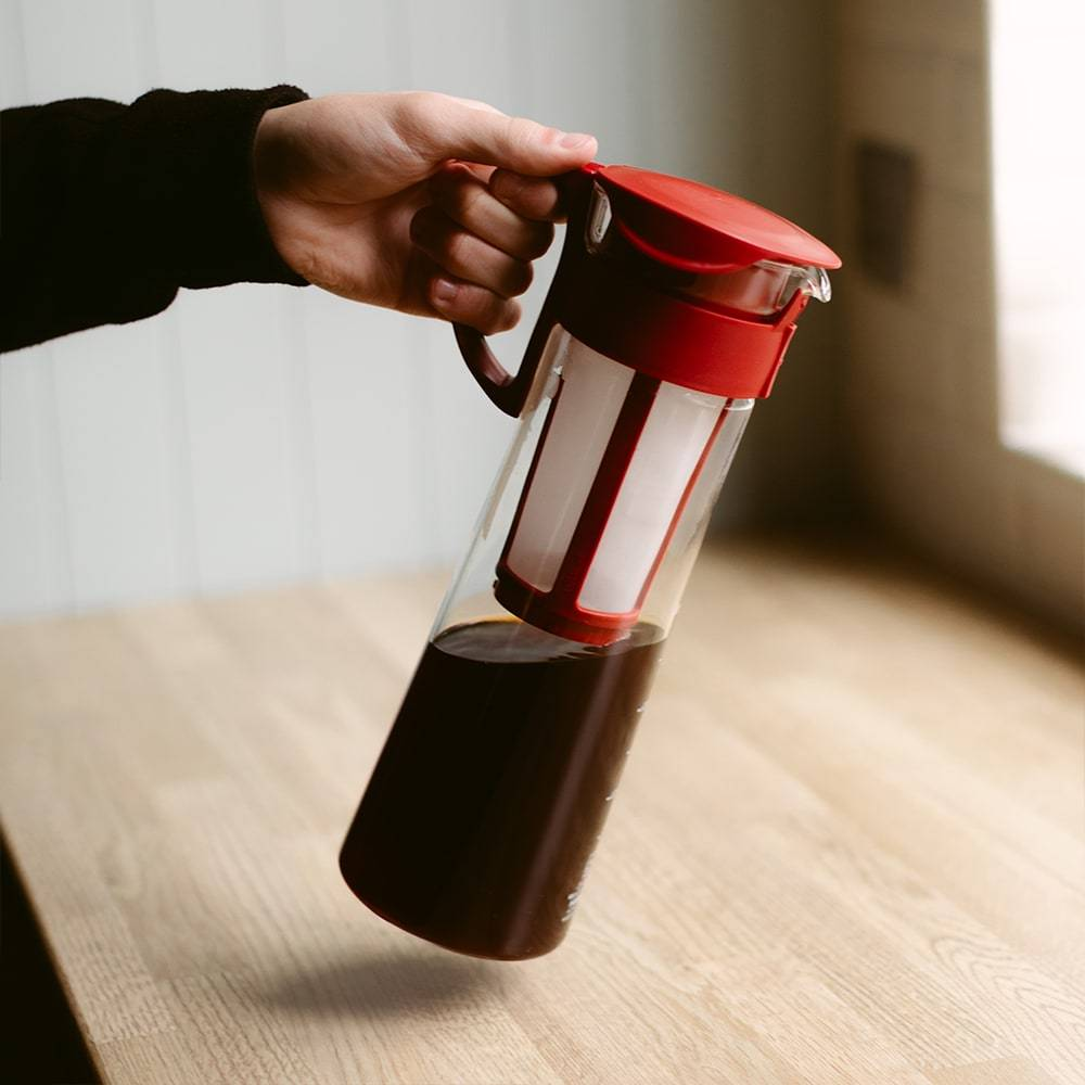 Hario Mizudashi Cold Brew Coffee Maker (Red) - 1L