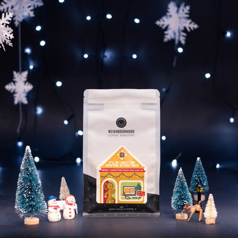 Neighbourhood Coffee Roasters - It'll Be Lonely This Christmas Without Brew - Coffee Beans - 250g