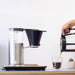 Wilfa Classic+ Coffee Maker - Silver pouring filter coffee