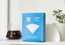 Load image into Gallery viewer, Hario X Project Waterfall V60 Filter Papers (100 pack)