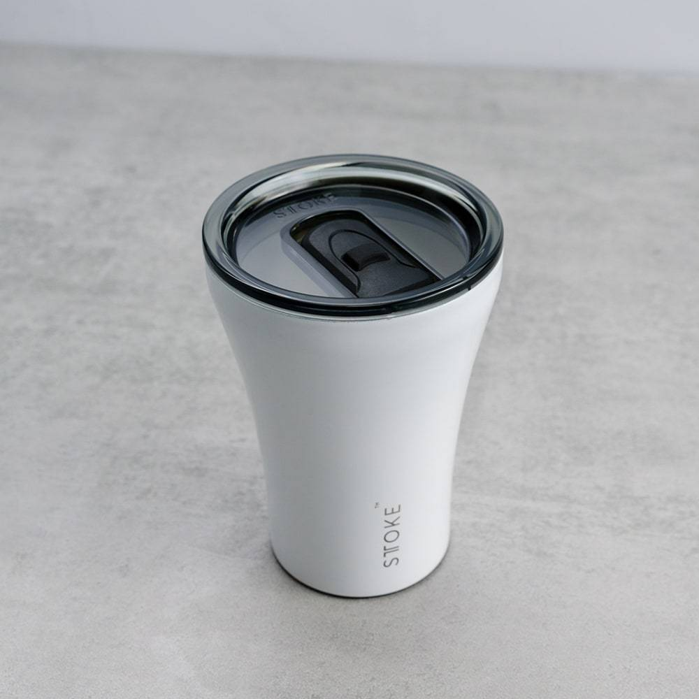 Sttoke Reusable Cup 8oz - White
