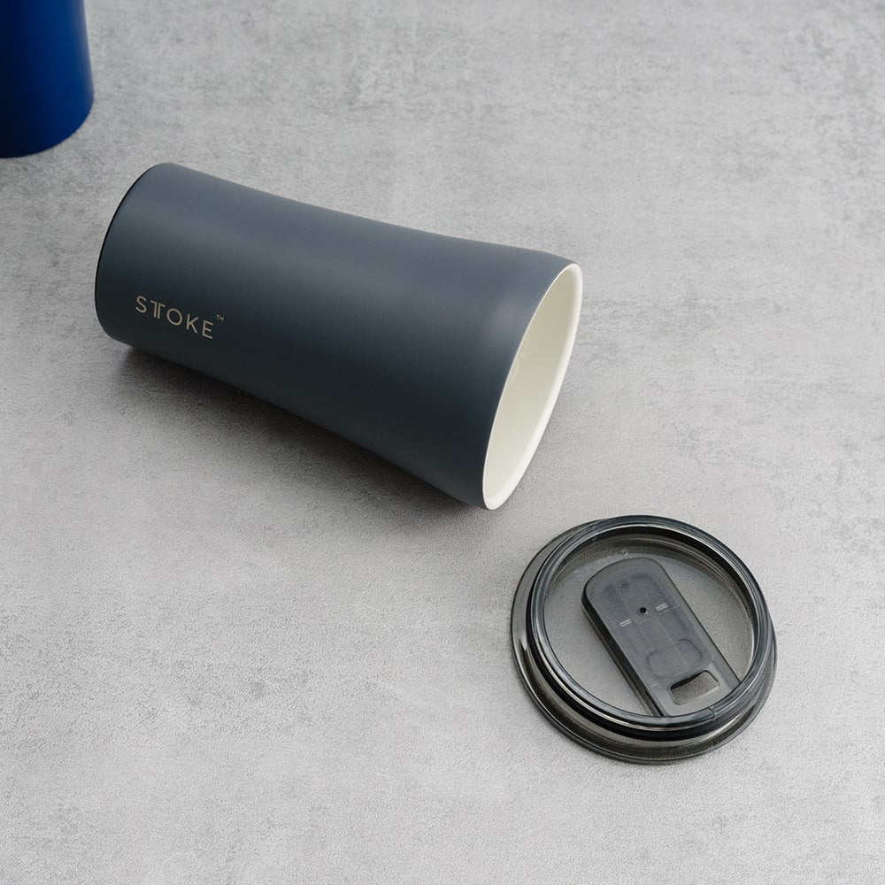 Sttoke Reusable Cup 12oz - Grey