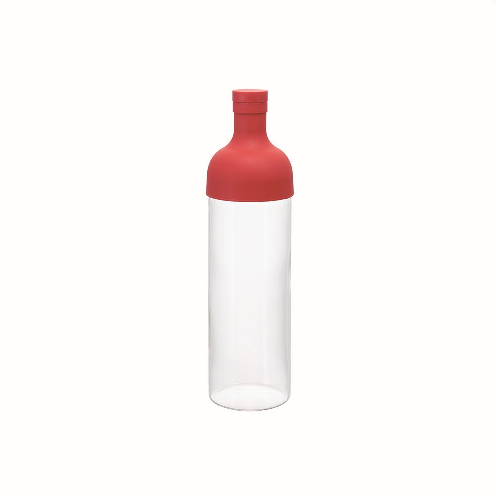 Hario Cold Brew Tea Filter Bottle (Red) 750ml
