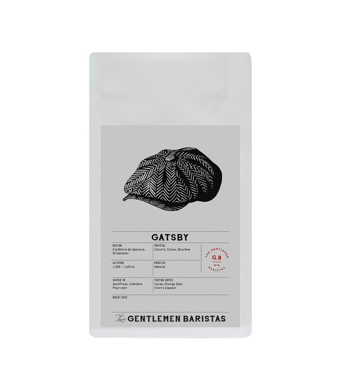 The Gentlemen Baristas - Gatsby - Single Origin - El Salvador - Coffee Beans - 250g