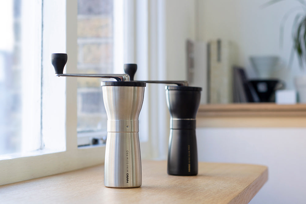 Hario Mini-Slim PRO Coffee Grinder (Black)