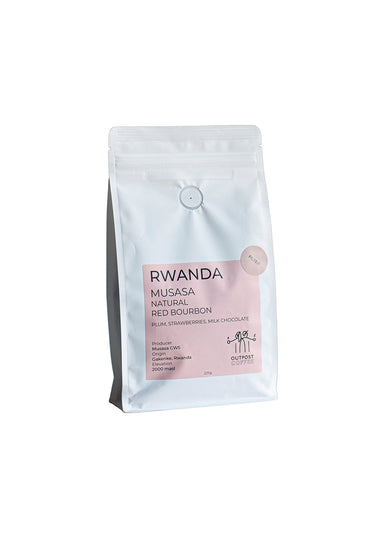 Outpost Coffee Roasters - Rwanda Musasa- Filter Coffee Beans - 225g