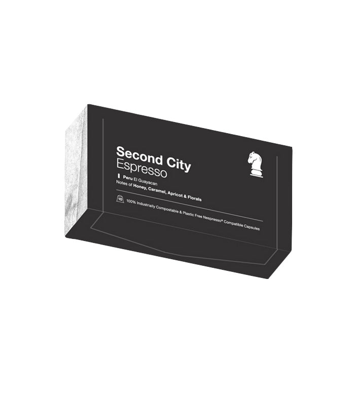Quarter Horse Coffee - Second City Espresso - 10 Compostable Coffee Pods
