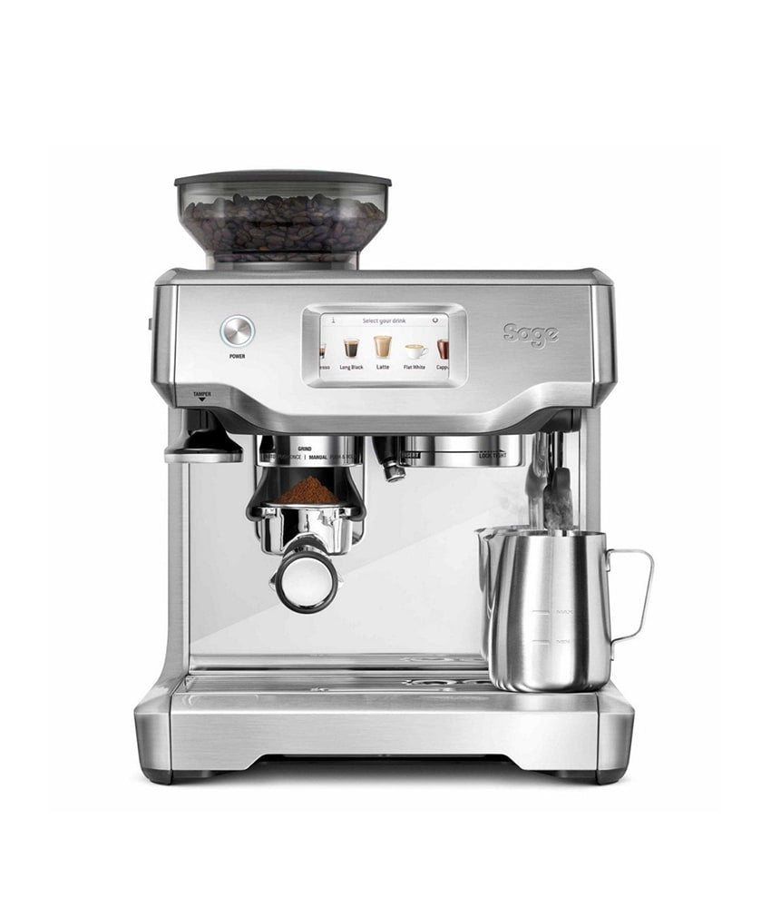 Sage The Barista Touch Espresso Machine Brushed Stainless Steel
