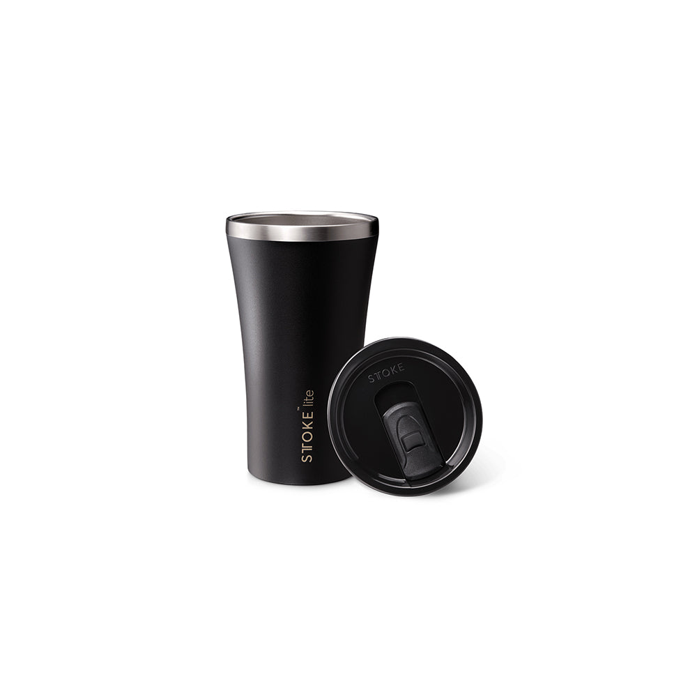 Sttoke Lite Reusable Cup 12oz (Carbon Black)