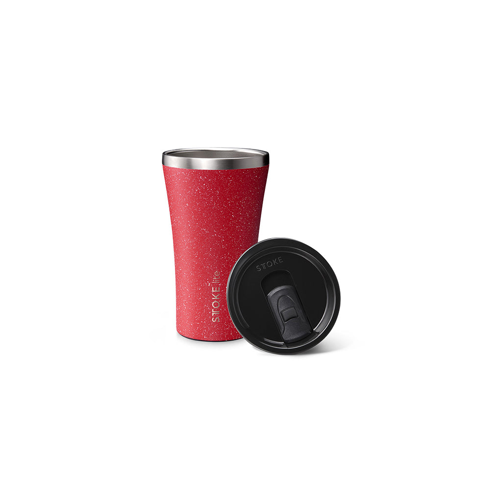 Sttoke Lite Reusable Cup 12oz (Sugar Red - Limited Edition)