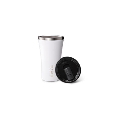 Sttoke Lite Reusable Cup 12oz (Frost White)
