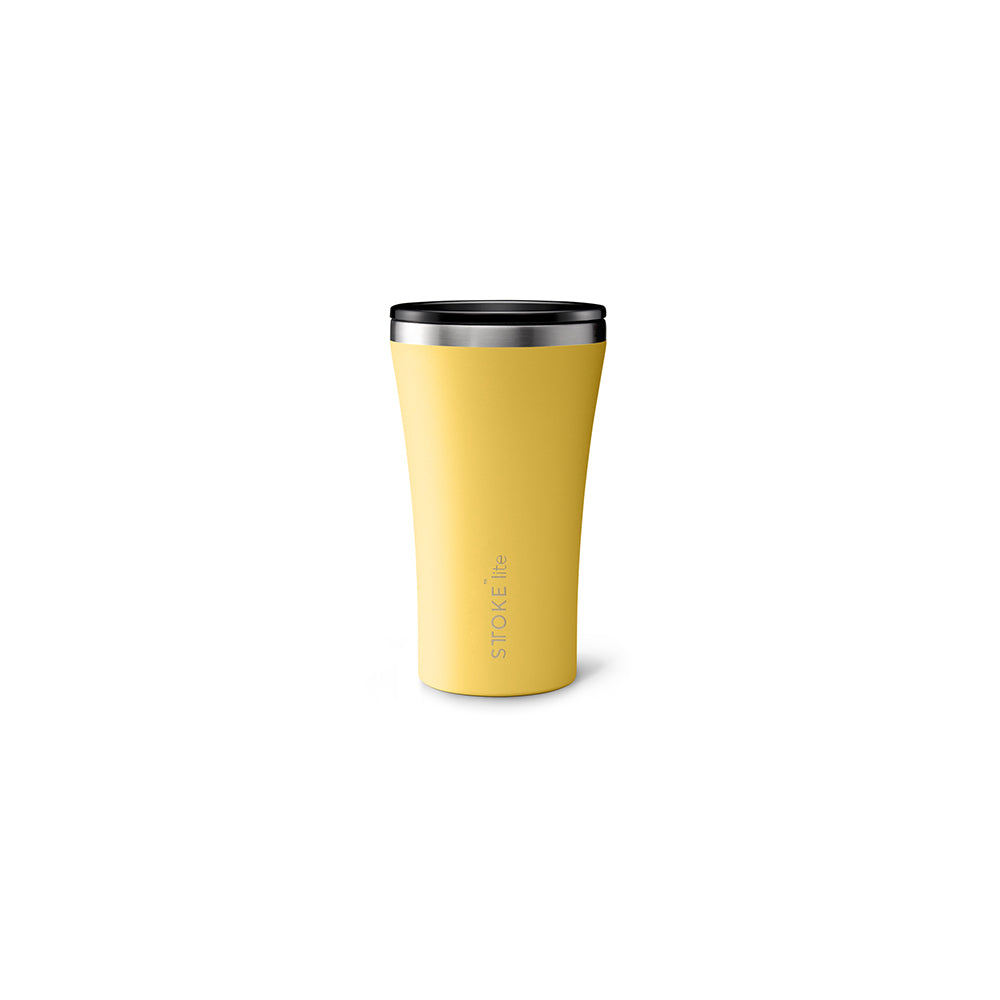 Sttoke Lite Reusable Cup 12oz (Sunbeam Yellow)