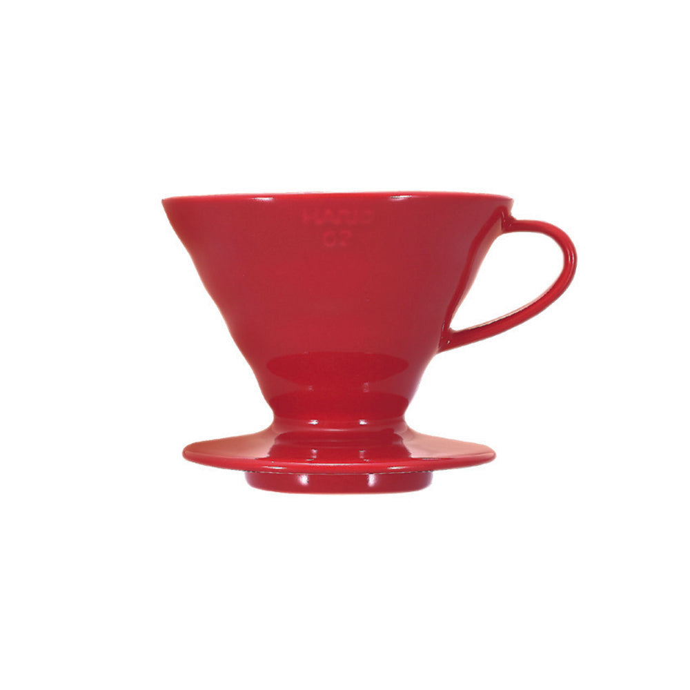 Hario V60 Ceramic Coffee Dripper Red - Size 02