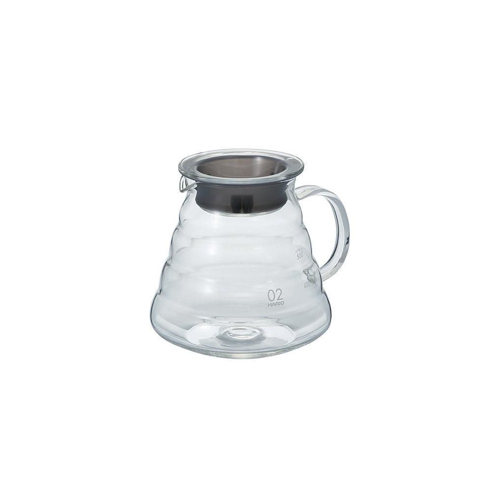 Hario V60 Glass Range Coffee Server (Clear) 600ml