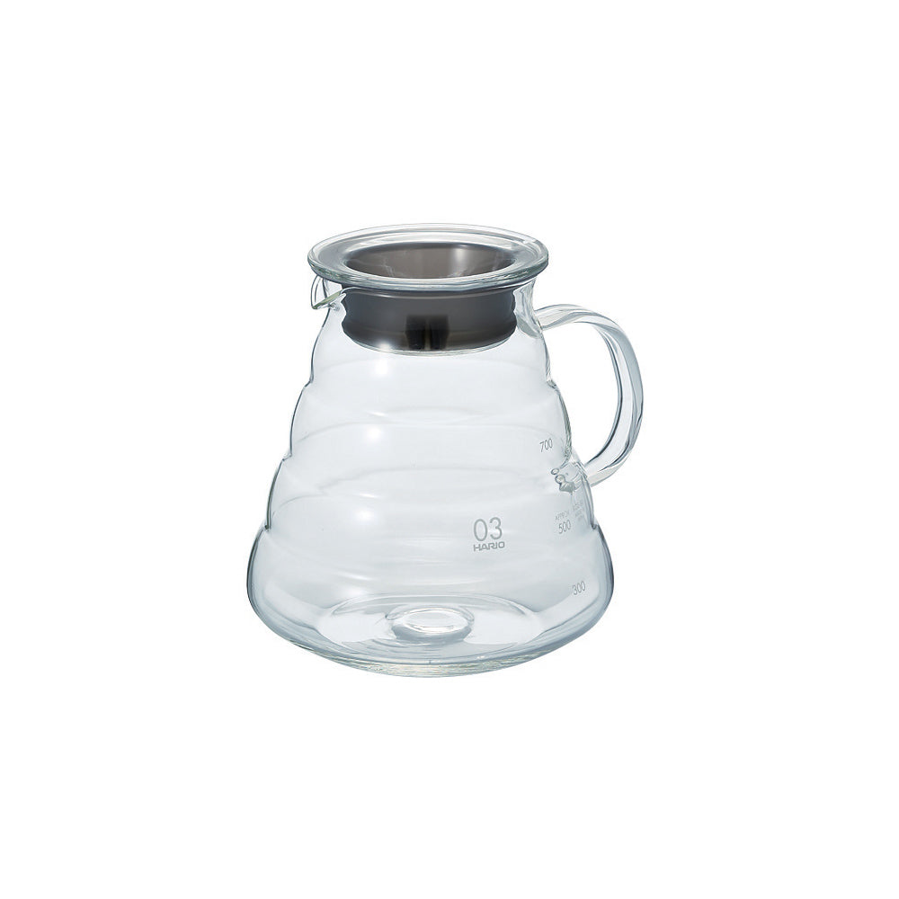 Hario V60 Glass Range Coffee Server (Clear) 800ml