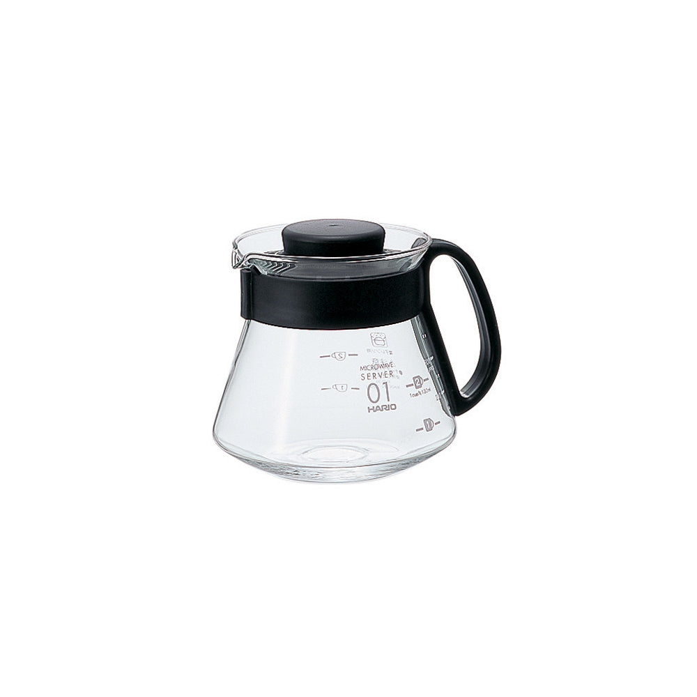 Hario V60 Glass Range Coffee Server Size 01 (360ml)