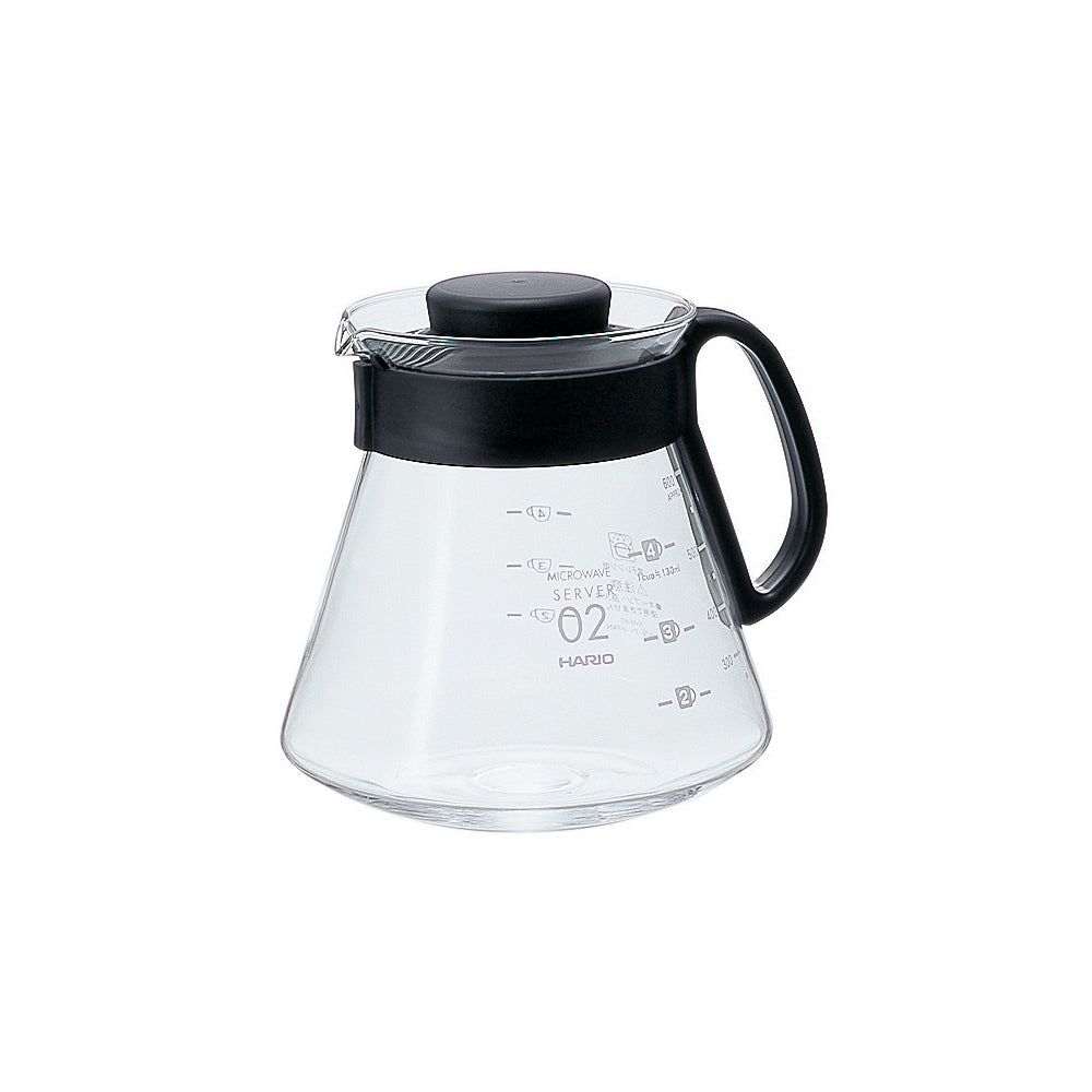 Hario V60 Glass Range Coffee Server Size 02 (600ml)