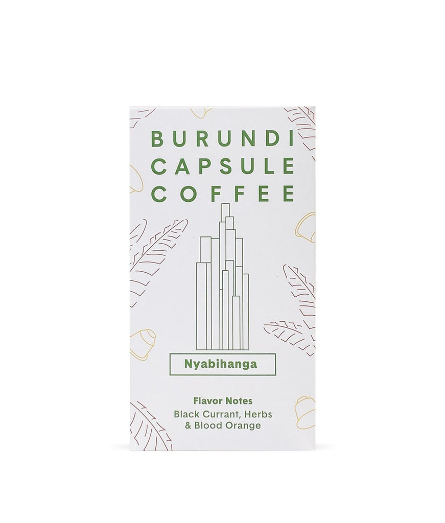 April Coffee Roasters - Burundi, Nyabihanga - 10 Compostable Coffee Pods