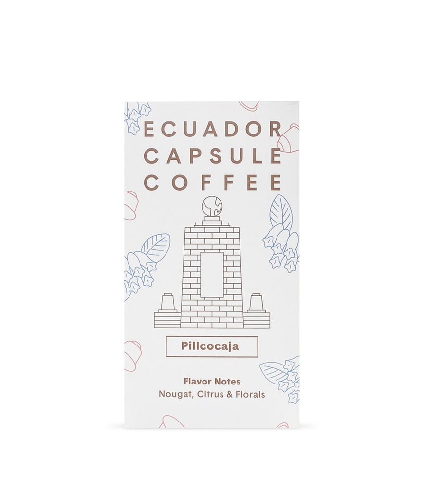 April Coffee Roasters - Ecuador, Pillcocaja - 10 Compostable Coffee Pods