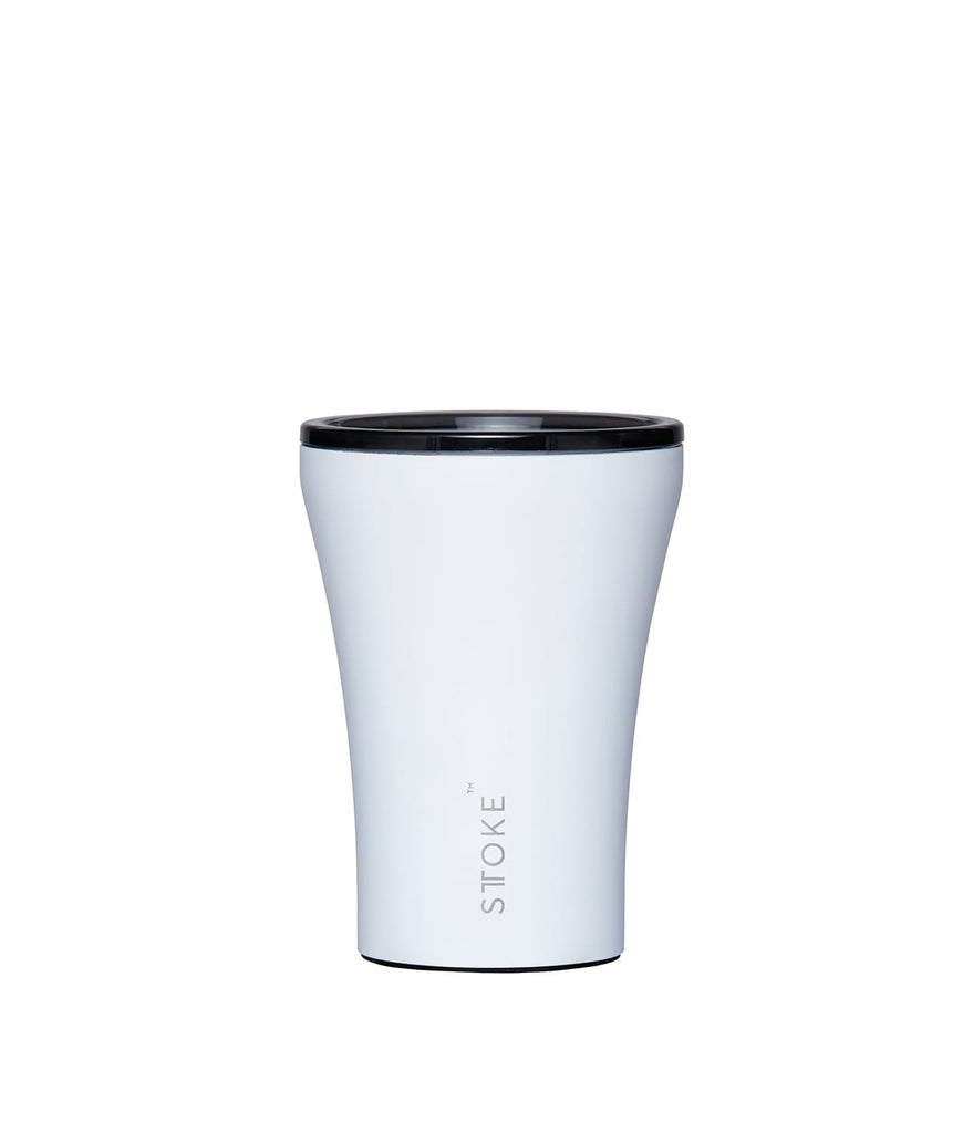 Sttoke Reusable Cup 8oz White