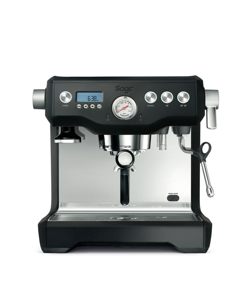 Sage The Dual Boiler Black Truffle Espresso Machine