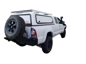 5-Foot Bed Mid-Size Truck Topper Configurable Roof Rack