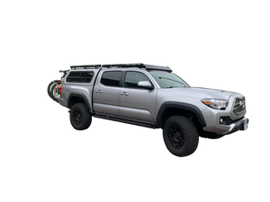 6-Foot Bed Mid-Size Truck Topper Configurable Roof Rack