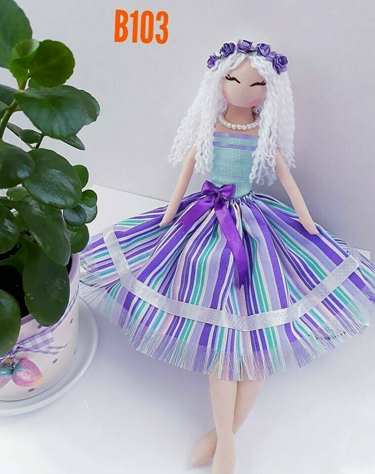 Huda Handmade Rag Doll 40cm-No One Else Have The Same As Yours