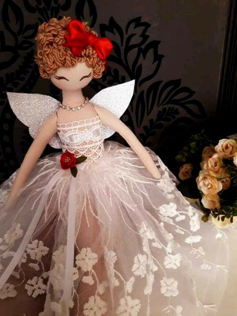 Huda Handmade Christmas Fairy Angel Doll 40cm-No One Else Have The Same As Yours