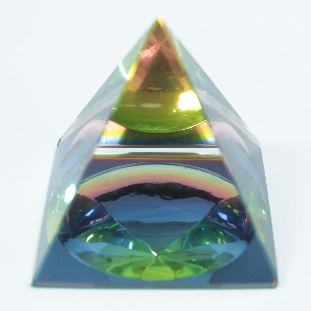 Mystic Pyramid 40 mm-Esoteric Crystal Pyramids - 3 Size