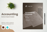 Accounting Proposal Template for CANVA & ILLUSTRATOR