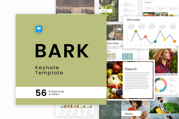 Bark Keynote Template