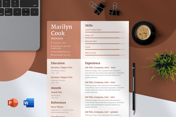 Bella Resume Template