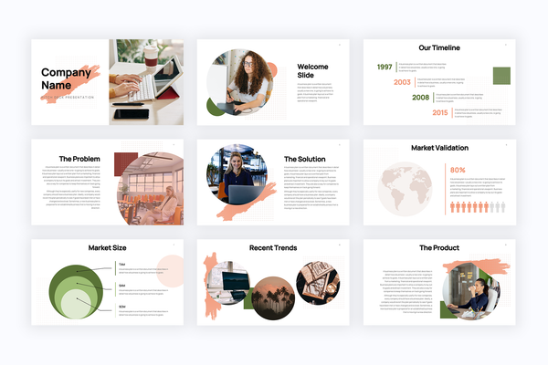 Bootstrapping Startup Powerpoint Templates