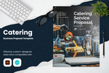 Catering Proposal Template for CANVA & ILLUSTRATOR
