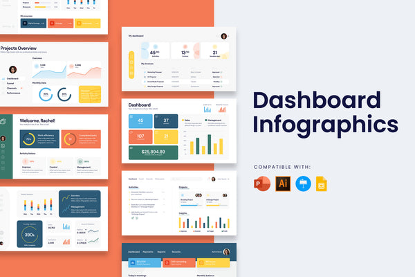 Dashboard Infographic Templates