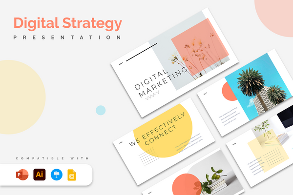 Digital Strategy Presentation Templates
