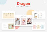 Dragon Startup Powerpoint Templates