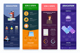 Education Vertical Infographics