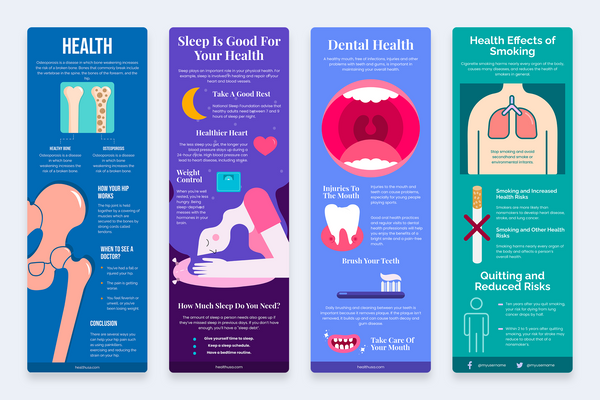 Health Vertical Infographics
